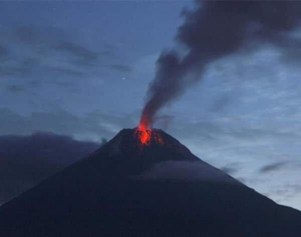 Фото. Вулкан Тунгурауа
