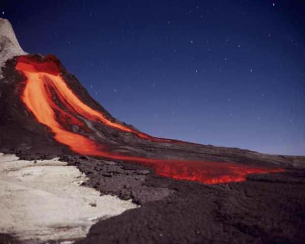 Фото. Вулкан Ол-Доиньо-Ленгаи
