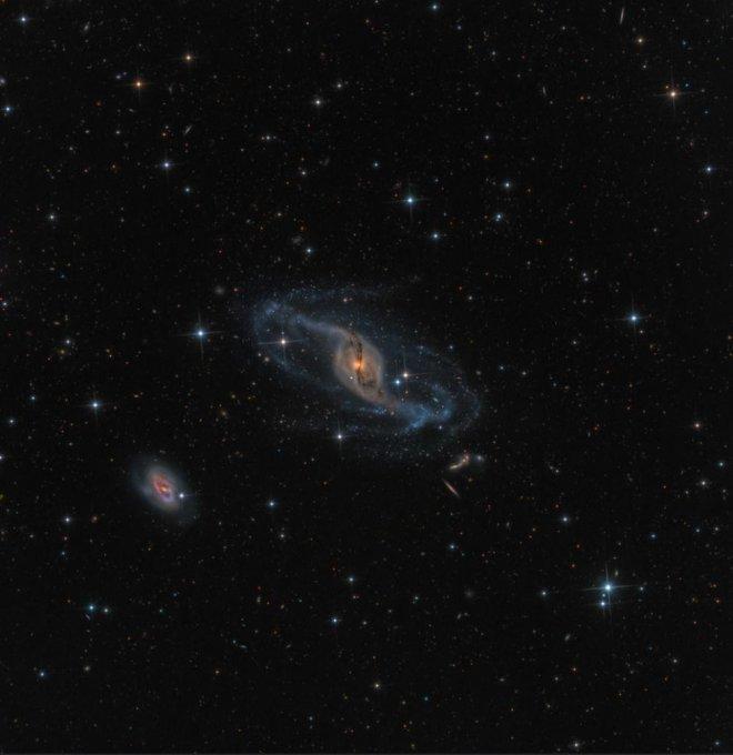 Фото. Витая галактика