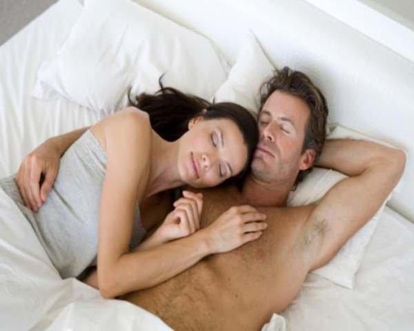 Фото. Секс снимает стресс