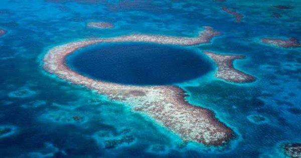 Фото. Большая голубая дыра