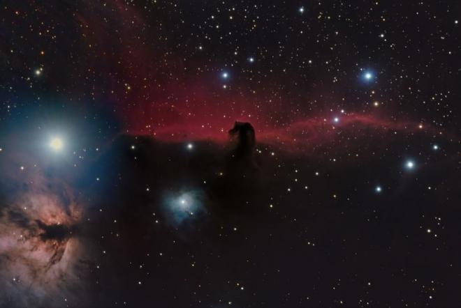 Фото. Туманность Консакая голова