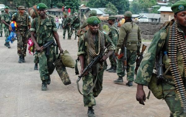Фото. Война в Конго