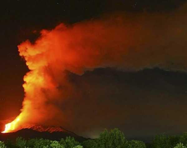 Фото. Вулкан Этна