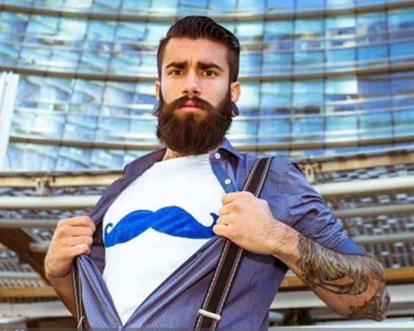 Фото. Борода придает здоровье