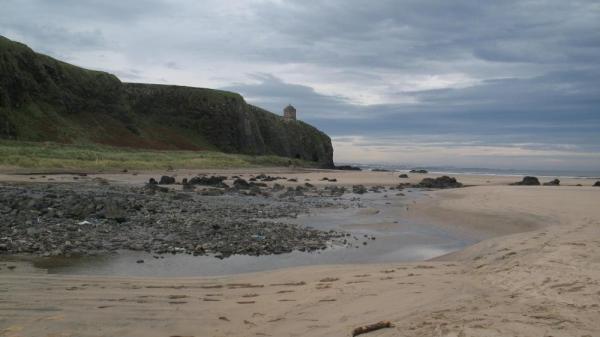 Фото. На пляжу Даунхилл