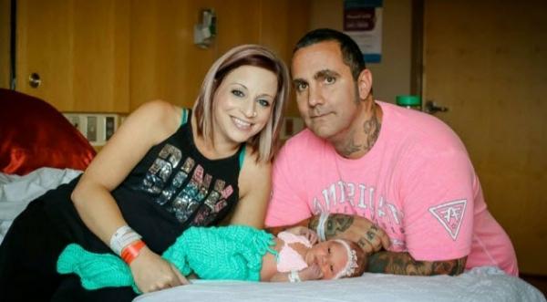 Фото. Мариана Сифрит с родителями