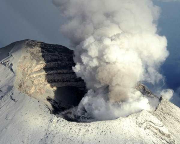 Фото. Вулкан Попокатепетль