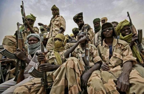 Фото. Граданская война в Судане