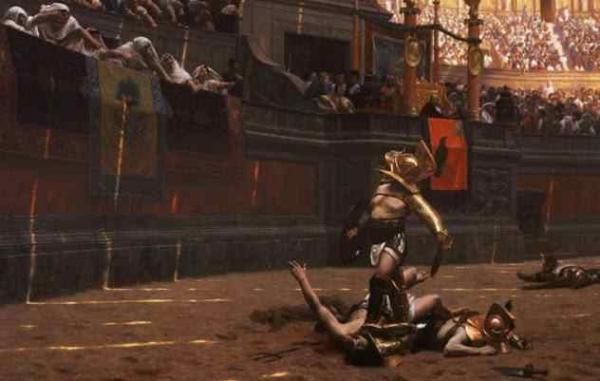 Фото. Гладиаторский бой