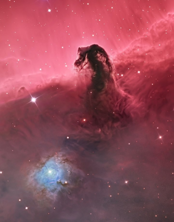 Фото. Туманность Конская голова