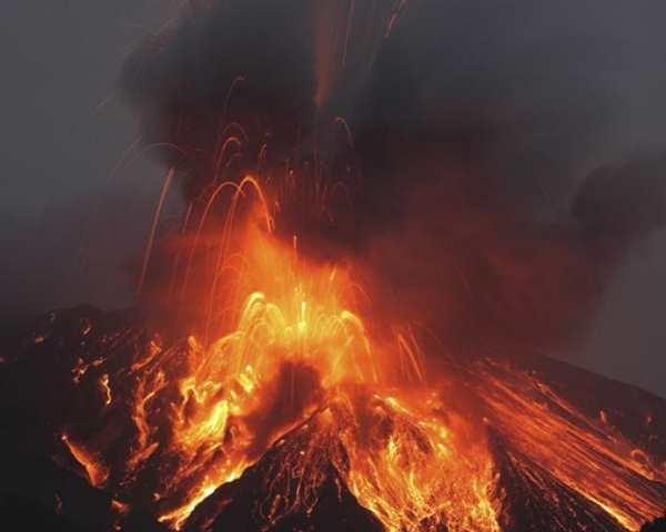 Фото. Вулкан Сакурадзима