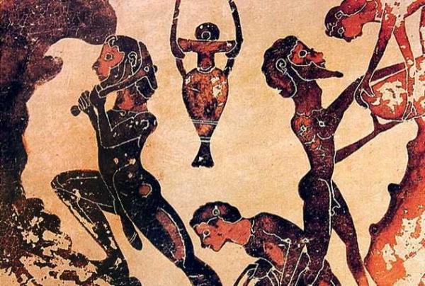 Фото. Греческие татуировки