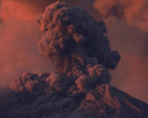 Фото. Вулкан Семеру