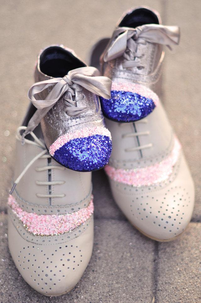 Как обновить детские туфли