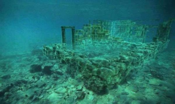 Фото. Подводный город Павлопетри