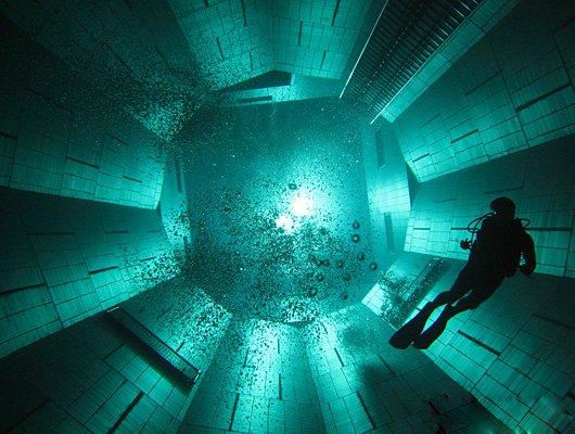 Фото. Самый глубокий бассейн в мире
