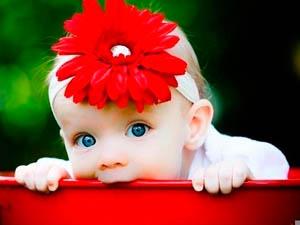 Фото. Милая модная малышка