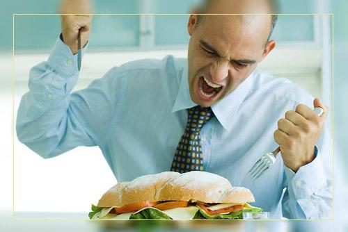 Фото. Тяготение к пище