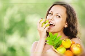 Фото. Кушаем овощи и фрукты