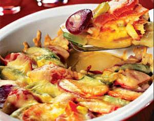 Фото. Запеканка овощная с сыром