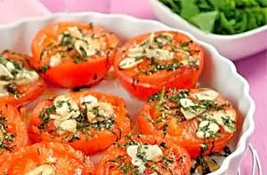Фото. Печеные помидоры