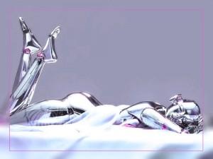 Фото. Девушка-робот