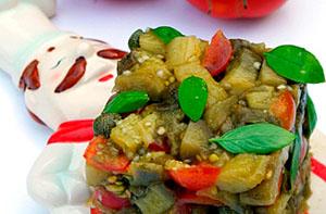 Фото. Вкусный тартар из баклажанов
