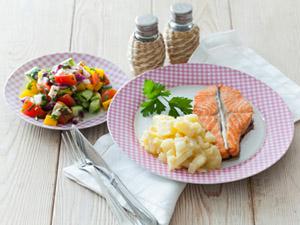 Фото. Приготовленное блюдо из лосося