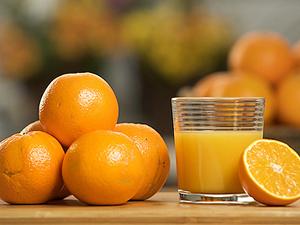 Фото. Свежевыжатый апельсиновый сок