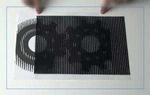 Фото. Иллюзия крутящихся шестеренок