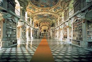 Фото. Библиотека в Адмонте, Австрия