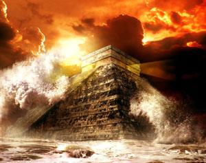Фото. Пирамида майя и конец света
