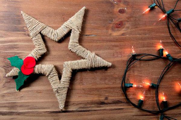 Фото. Звезда для новогодней елки
