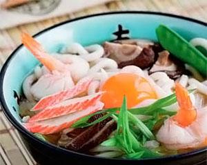 Фото. Удон с морепродуктами