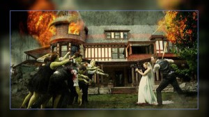 Фото. Зомби-свадьба