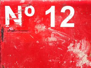Фото. Число двенадцать