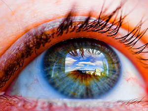 Фото. Моргание глазами