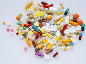 Фото. Таблетки во всех цветах