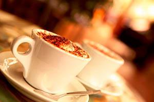 Фото. Две чашки кофе