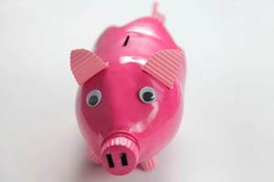 Фото. Копилка-свинья