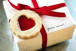 Фото. Валентинка - печенье