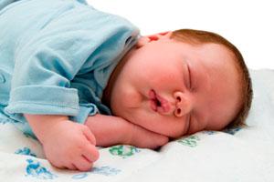 Фото. Спящий ребенок