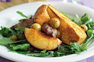 Фото. Теплый салат