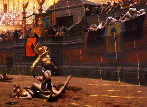 Фото. Гладиатор Римской империи