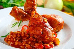 Фото. Кукуруза с курицей