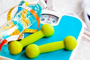 Фото. Спорт и весы