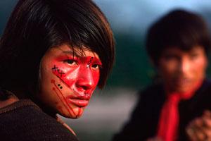 Фото. Индейцы такейра