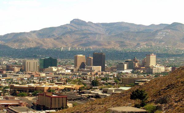 Фото. Город Эль-Пасо (США)