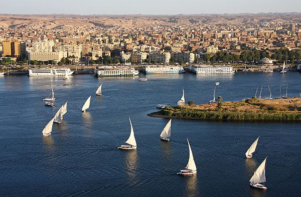 Город Асуан (Египет)